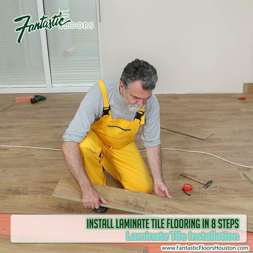 070316 Laminate Tile Installation